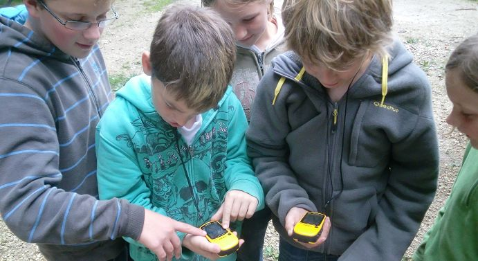 geocaching quer